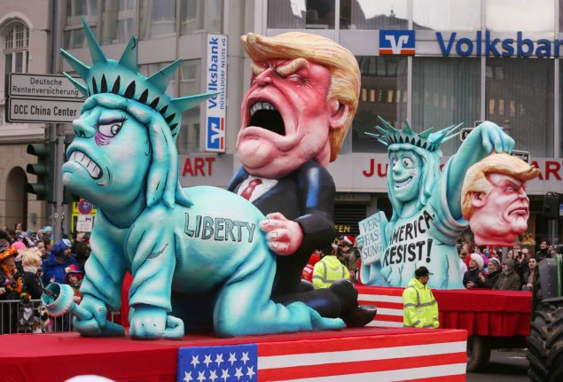 'It caused a real shitstorm': meet the man who skewered Trump at last year's Karneval