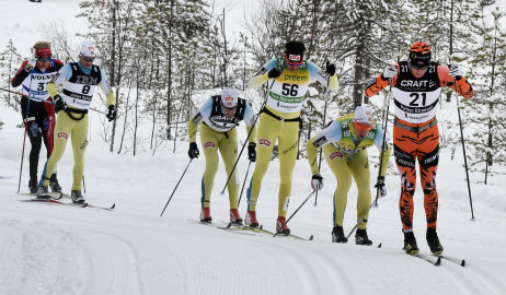 Swedish skiing competition struggles with too much snow