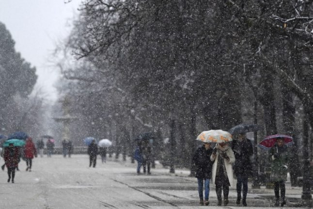 IN PICS: Snow and ice turns Spain into winter wonderland