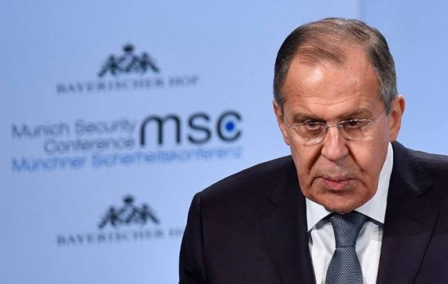 Russia and US trade barbs in Munich over election meddling claims