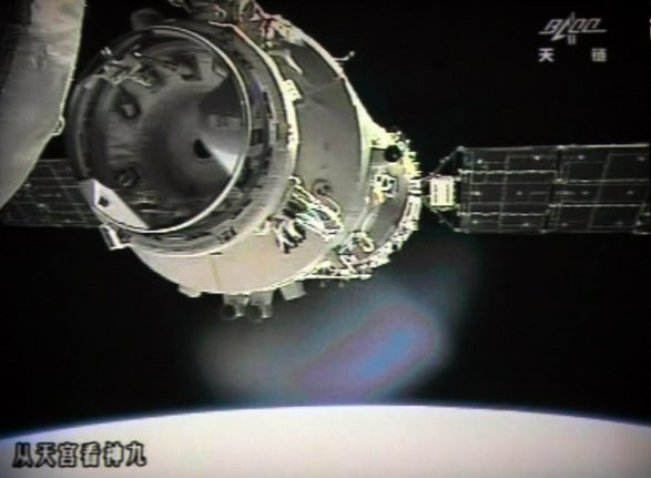 There's a tiny chance China's Tiangong-1 space station will fall over Italy