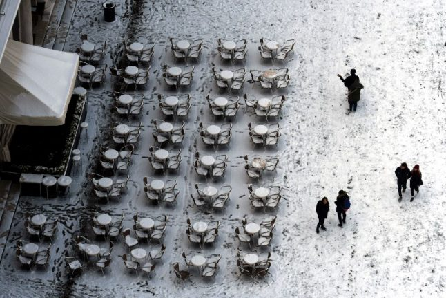 Italy's freezing weather continues, disrupting trains and damaging crops