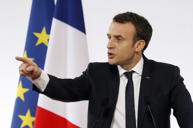 Macron invited to address US Congress during April state visit