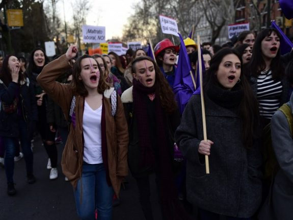 Women across Spain prepare 24-hour strike at work and in the home