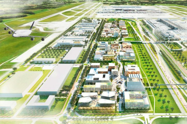 'City of the future' tech hub to be constructed at Munich Airport