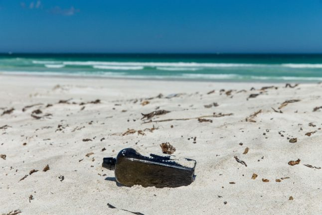 German message in bottle takes 132 years to be found, smashing world record