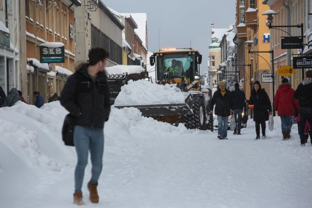 Spring? Ha, no. More snow set to fall in Sweden