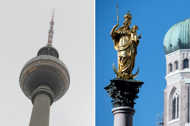 Rich German states pay record bailout to poorer regions
