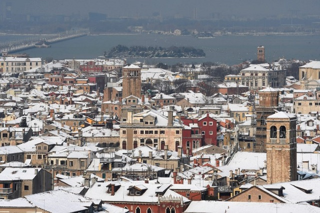 15 incredible pictures of snow in Italy