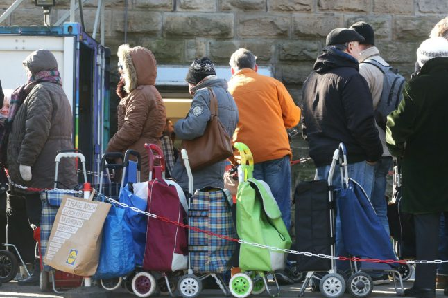 'No one in Germany would go hungry if food banks didn't exist'