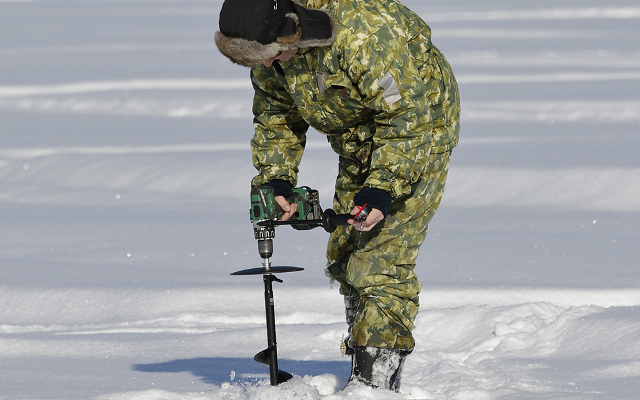 IN PICTURES: Ice fishing in Swedish Lapland