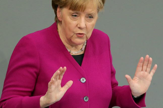 5 things we learned as Merkel laid out her vision for the next four years