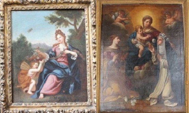 Italy's art police recover works stolen from quake-hit churches