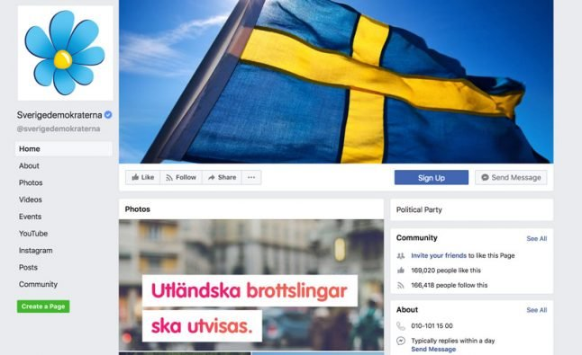 Sweden Democrats nation's best on social media – but will it transfer to the election?