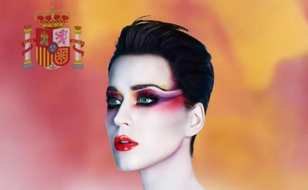 Katy Perry under fire for using Spanish flag in Barcelona gig promo