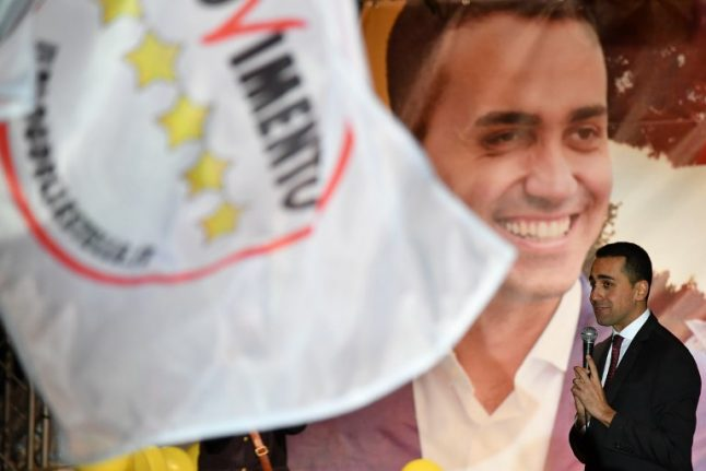 Italy's Five Star Movement looks to form rival coalition with the left