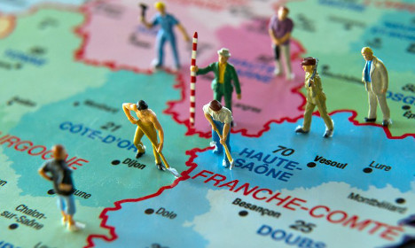 The areas of France the Brits do and don't go