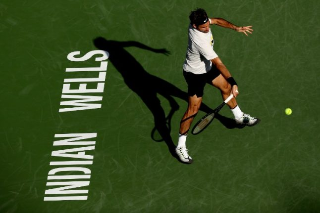15-0: Federer continues perfect start to year with Indian Wells win