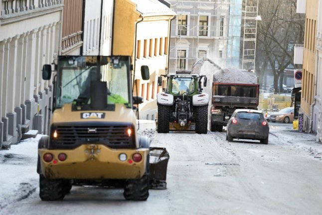 Siberian cold makes way for Norwegian cold