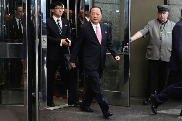 North Korea's foreign minister to visit Sweden today