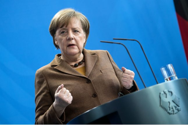 Merkel pledges 'strong voice for Germany' after SPD commits to new coalition deal