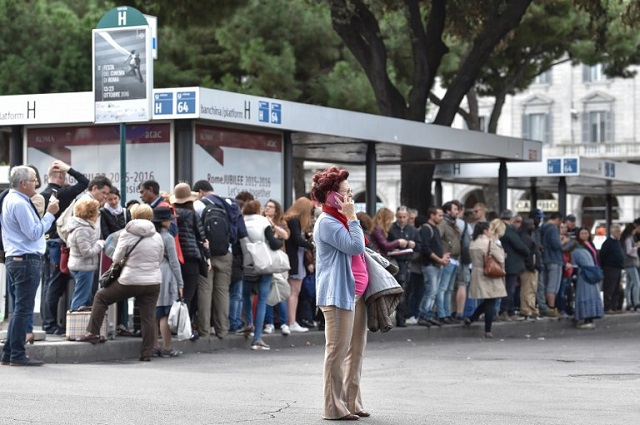 Women's Day strike hits rail, road and air transport across Italy