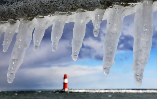 German cold snap: thawing in the west and frosty in the east