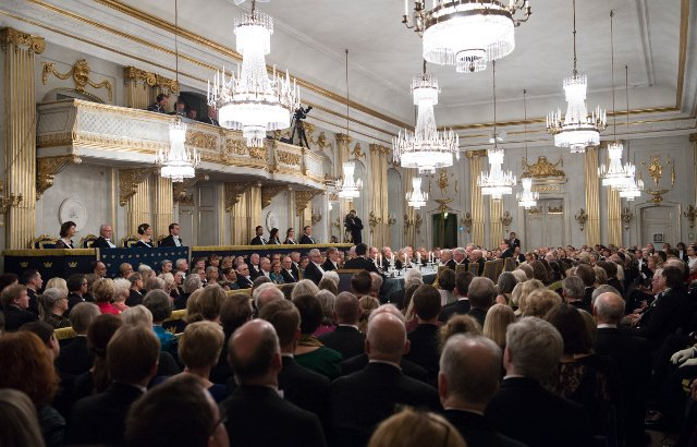 Let's talk about the Swedish Academy's rapid descent into farce (and pussy bows)