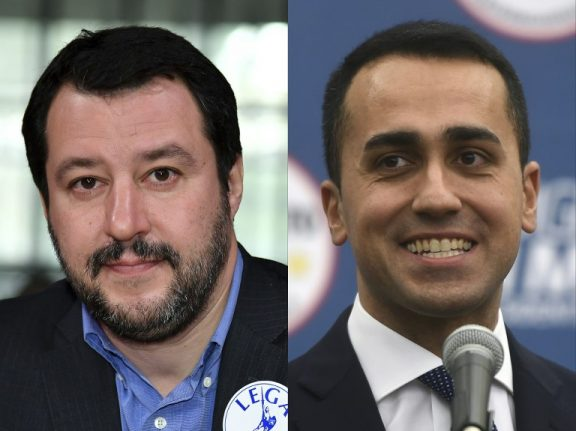 Italy's League and Five Star Movement pledge to get parliament working ASAP