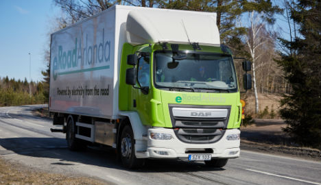 World's first electrified public road opens in Sweden