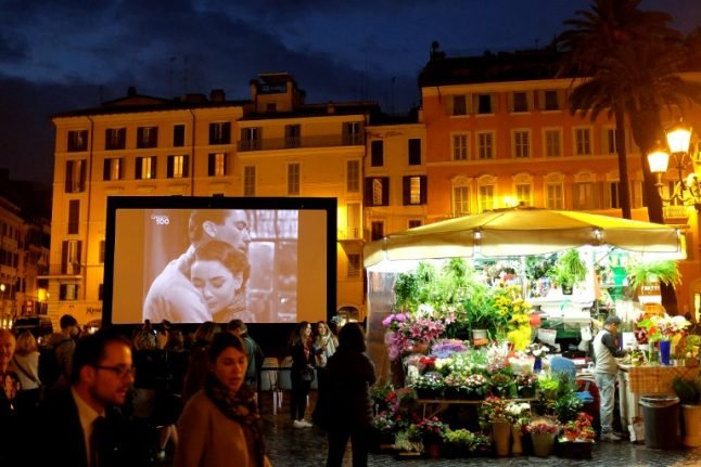For the next four days, it costs €3 to go to the cinema in Italy