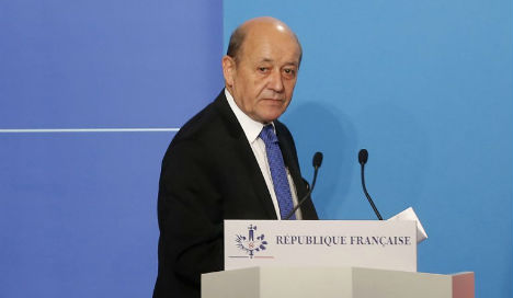 Strike destroyed 'large part' of Assad's chemical weapons: French FM