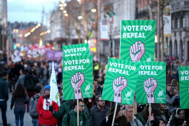 Campaigners in Berlin to hold fundraiser ahead of Irish abortion referendum