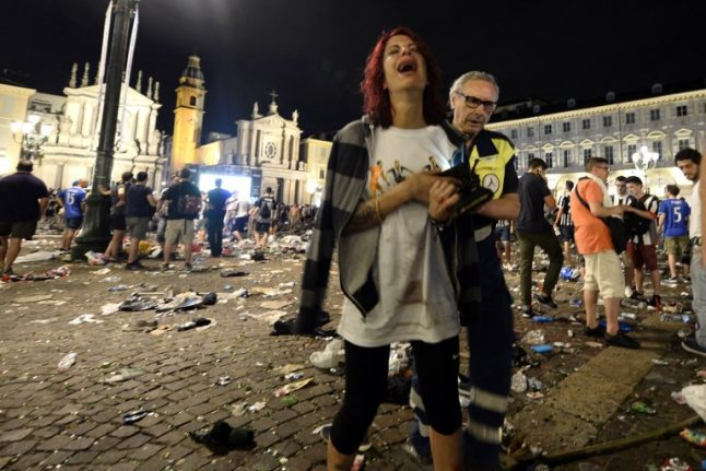Eight arrested for sparking deadly Turin football stampede