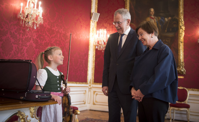 Austrian guests pack Mozart's childhood violin for state visit to China