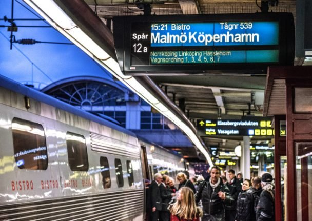 Plans for more fast trains between Stockholm and Malmö