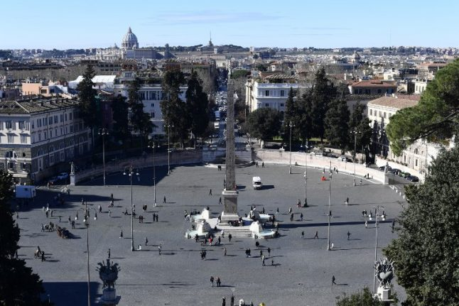 Rome's Piazza del Popolo to be turned into tennis court for Italian Open