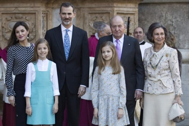 Right royal bust-up: Viral video shows Queen Letizia clashing with mother-in-law
