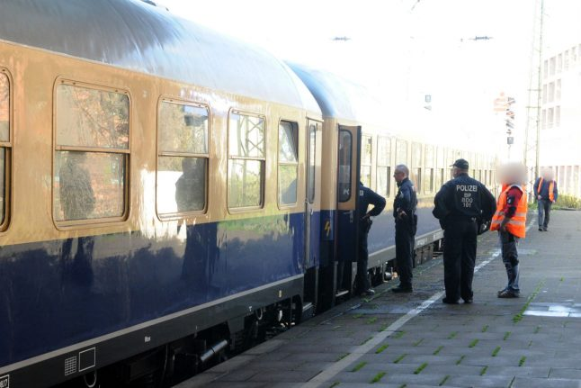 Suspect on the run after woman raped on train after Munich football match
