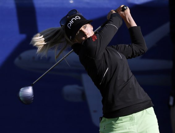 Swedish underdog Lindberg upsets favourite to win first major title