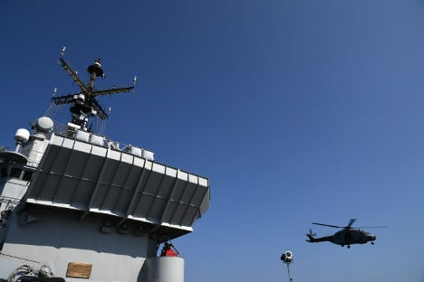 One dead in Italian navy helicopter crash