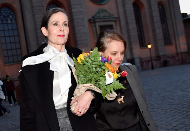 Swedish Academy's first female head ousted after #MeToo scandal