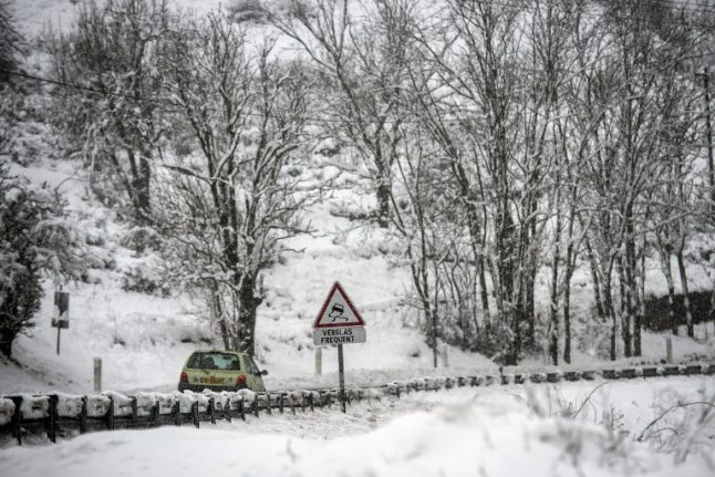 In Pictures: Southern France hit by May snowfall