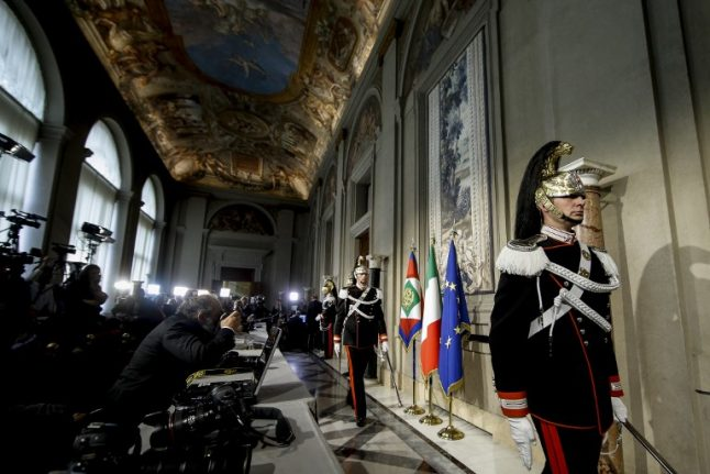Italy set for caretaker government if last-ditch talks fail