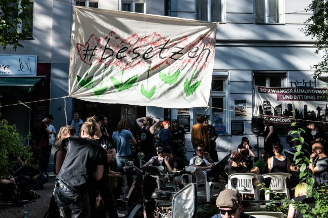 Protesters occupy apartments in Berlin in outcry over rising rent prices