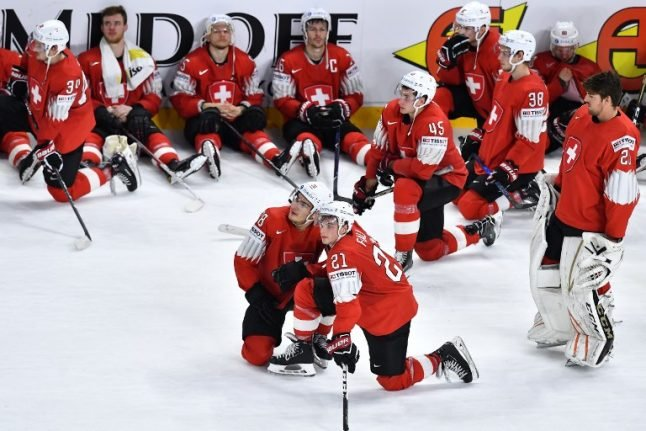 Sweden beat Swiss to win ice hockey world title in shoot-out drama