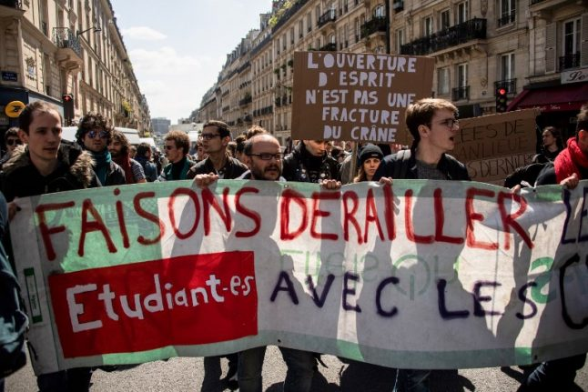 Anti-elitist student protest forces elite French university to close