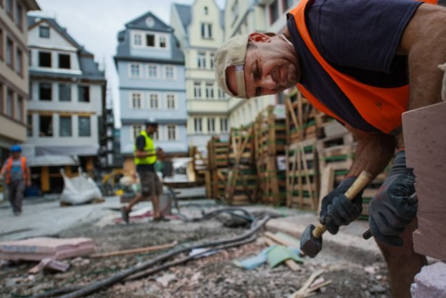 Frankfurt's bombed-out old town has been rebuilt. Here's what we found there