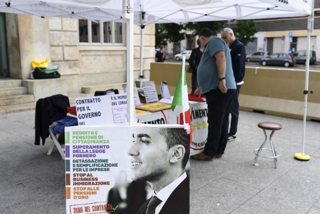 Italian parties say they have agreed on a nominee for prime minister