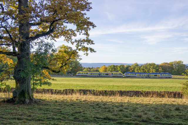This is the most scenic train journey in Sweden